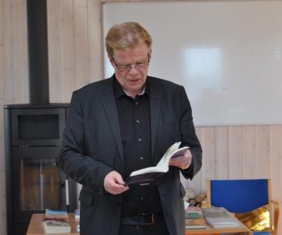 Einar Már Gudmunsson (foto Anine Hviid Thøgersen).